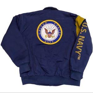United States Navy Sherpa Fleece-Lined Heavy Coat - XXL